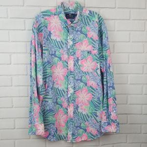 Vineyard Vines Floral Tucker Button Down Shirt